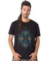 Street Habit Sikuli Men's 100% Printed T-Shirt with Exclusive Psychedelic Mandala Design