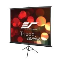 Elite Screens Tripod Series, 100-INCH 4:3, Adjustable Multi Aspect Ratio Portable Indoor Outdoor Projector Screen, 8K / 4K Ultra HD 3D Ready, 2-YEAR WARRANTY, T100UWV1