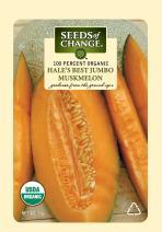 Seeds of Change Certified Organic Hale's Best Muskmelon