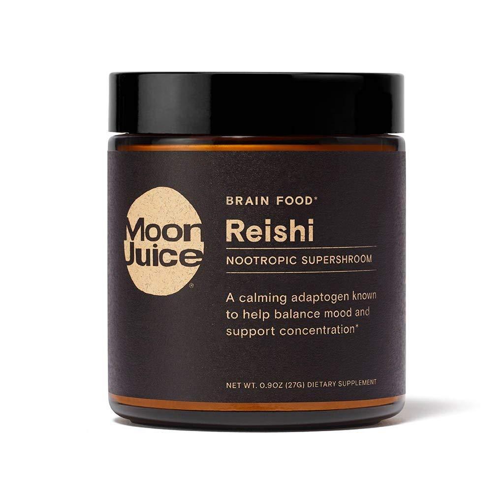Moon Juice - Reishi Super Mushroom Extract   Powerful Organic Nootropic