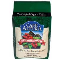 Cafe Altura Whole Bean Organic Coffee, Turkish (Packaging May Vary)