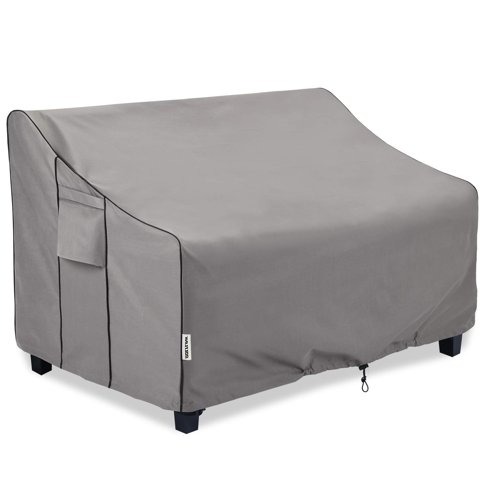 BOLTLINK Outdoor Patio Furniture Covers Waterproof ,Durable 3-Seater Sofa Cover Fits up to 76W x 40D x 33H inches