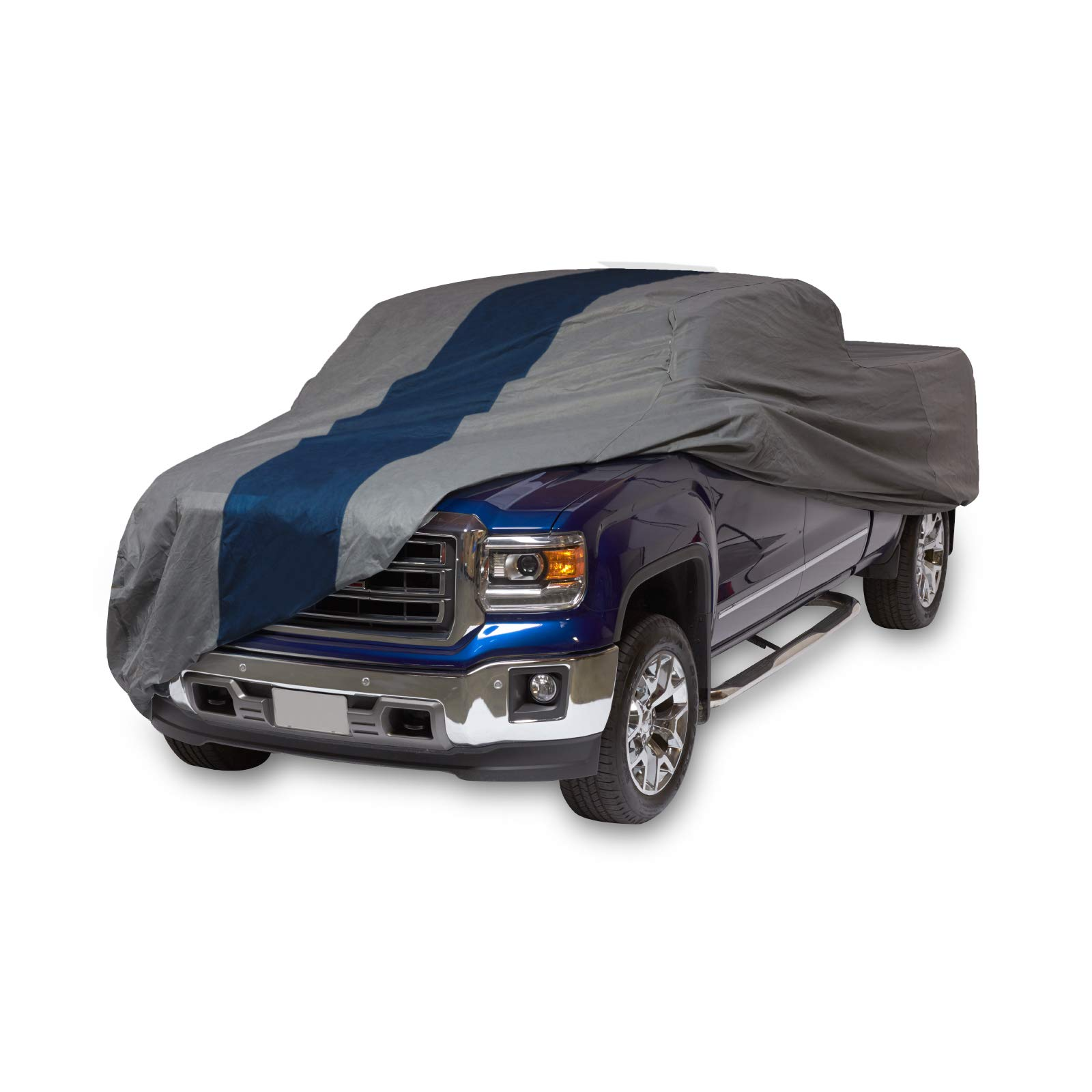 Duck Covers Double Defender Pickup Truck Cover for Crew Cab Long Bed Dually Trucks up to 22'