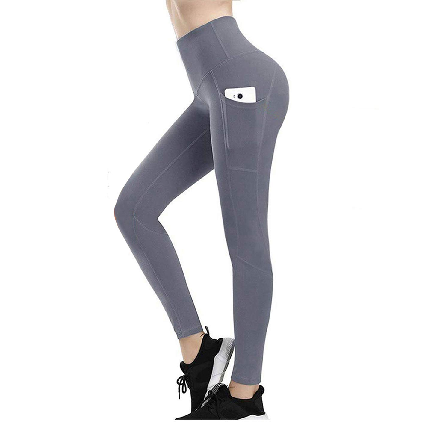 High Waisted Leggings for Women, Weight Loss Hot Sauna Sweat Yoga Pants, Compression Pants