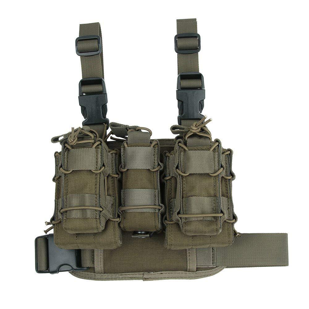 EXCELLENT ELITE SPANKER Tactical Legs Triple Mag Pouch