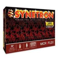 Microflex SY-911-M Synetron High Risk Powder-Free Exam Gloves, Size: MD, Latex (Pack of 50)