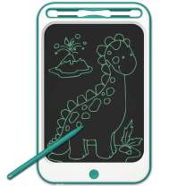JONZOO Kids Writing Drawing Tablets Doodle Boards, 12 Inch LCD Writing Tablets Electronic Drawing Pads with Screen Lock and Pen, Gifts for Kids Adults at Home School Office, Blue Green