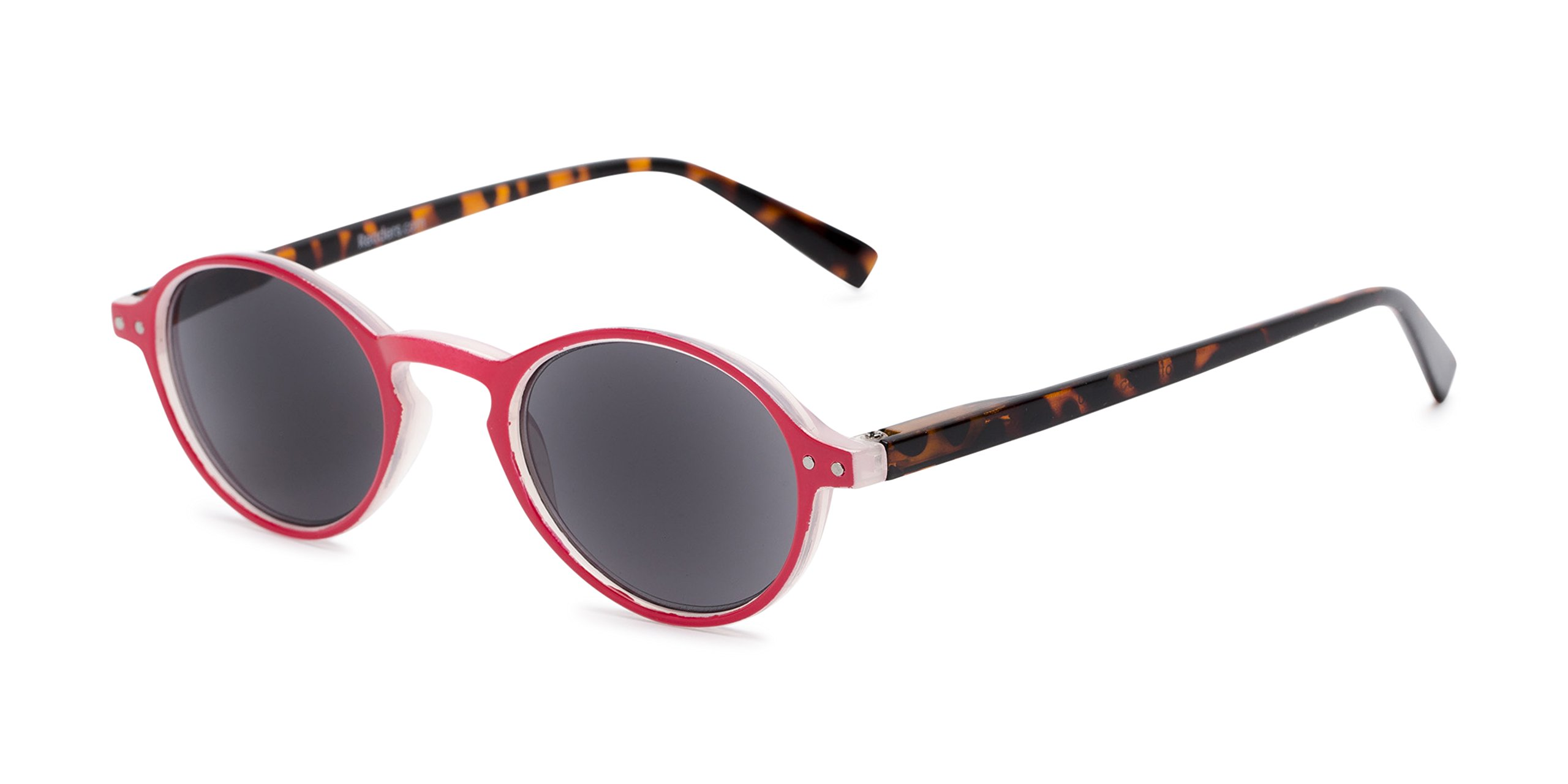 Readers.com Reading Sunglasses: The Loft Reading Sunglasses Plastic Round Style for Men and Women