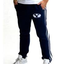 Twin Vision Activewear BYU Cougars NCAA Men's Fleece Jogger Pant (Navy)