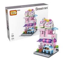 LOZ Building Block Cake Shop Mini Handmade Kit,Construction Toy Children's Day Birthday Gift Kid Adult (Cake Shop)