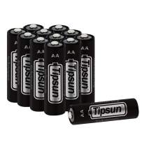 Tipsun AA Lithium Batteries, Longer Lasting Energy Double A Battery, 2900mAh Lithium Cells 12 Pack