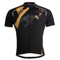 ILPALADINO Men's Cycling Jersey Short Sleeve Biking Shirts Riders Pattern