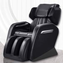 Full Body Massage Chair, Keymao Superior Massage Recliner New Tap, Roll & Knead Program Zero Gravity Massage Chair Recliner with Heat and Foot Rollers Heat Therapy Body Massager