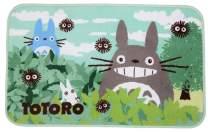 Super Soft Memory Foam Bath Mat Non Slip Absorbent Super Cozy Velvet Bathroom Rugs Cute Totoro Design Door Mat Kitchen Mat Bedroom Living Room Rugs (19.68x47.24 Inch)