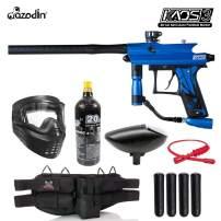Maddog Azodin KAOS 3 Silver Paintball Gun Marker Starter Package