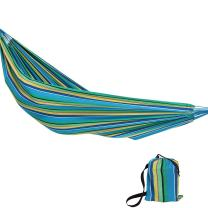 Sunnydaze Extra Large Brazilian Double Hammock with Carry Bag for Outdoor Use, Weight Capacity: 450 Pounds, Sea Grass