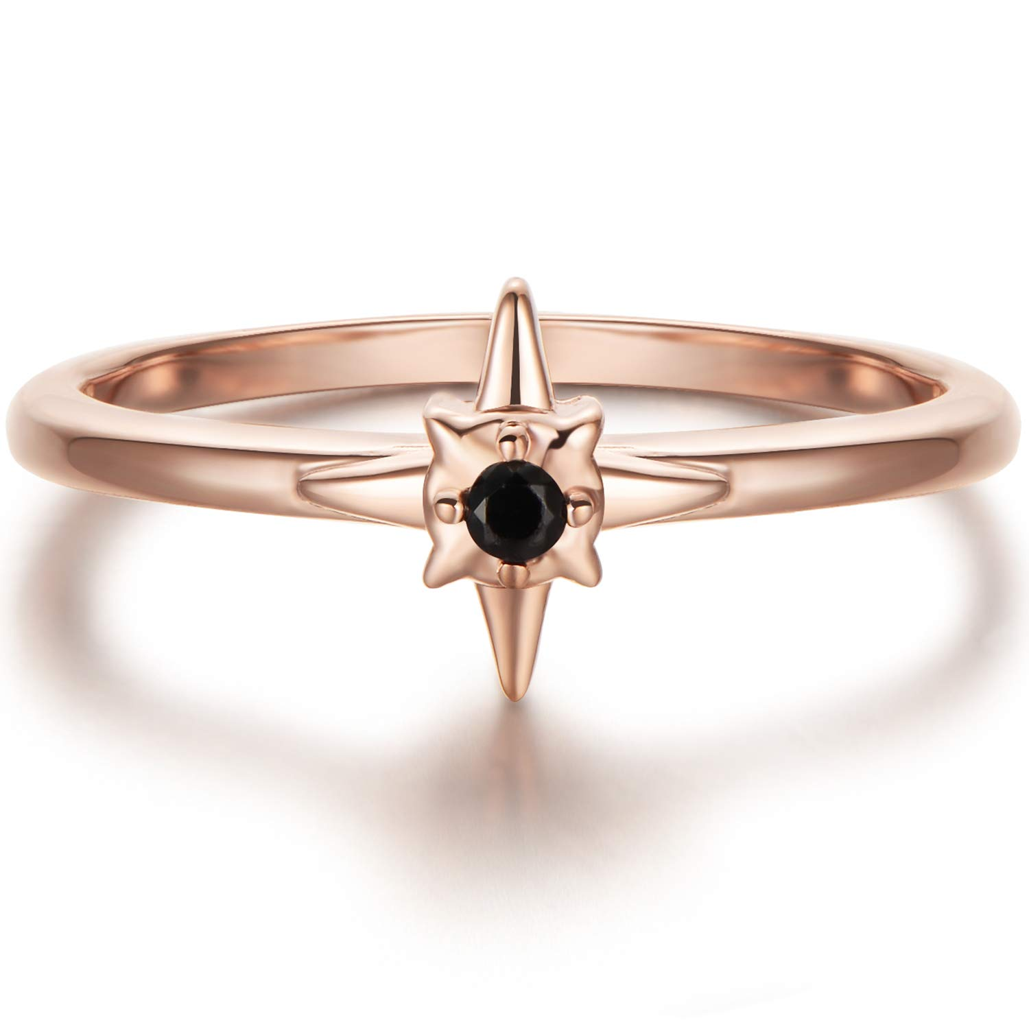 Blossom & Hue North Star CZ Ring in 18K Gold Vermeil