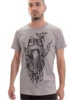Beard Wise Original Artwork T-Shirt for Men - Street Style Quality Cotton Top