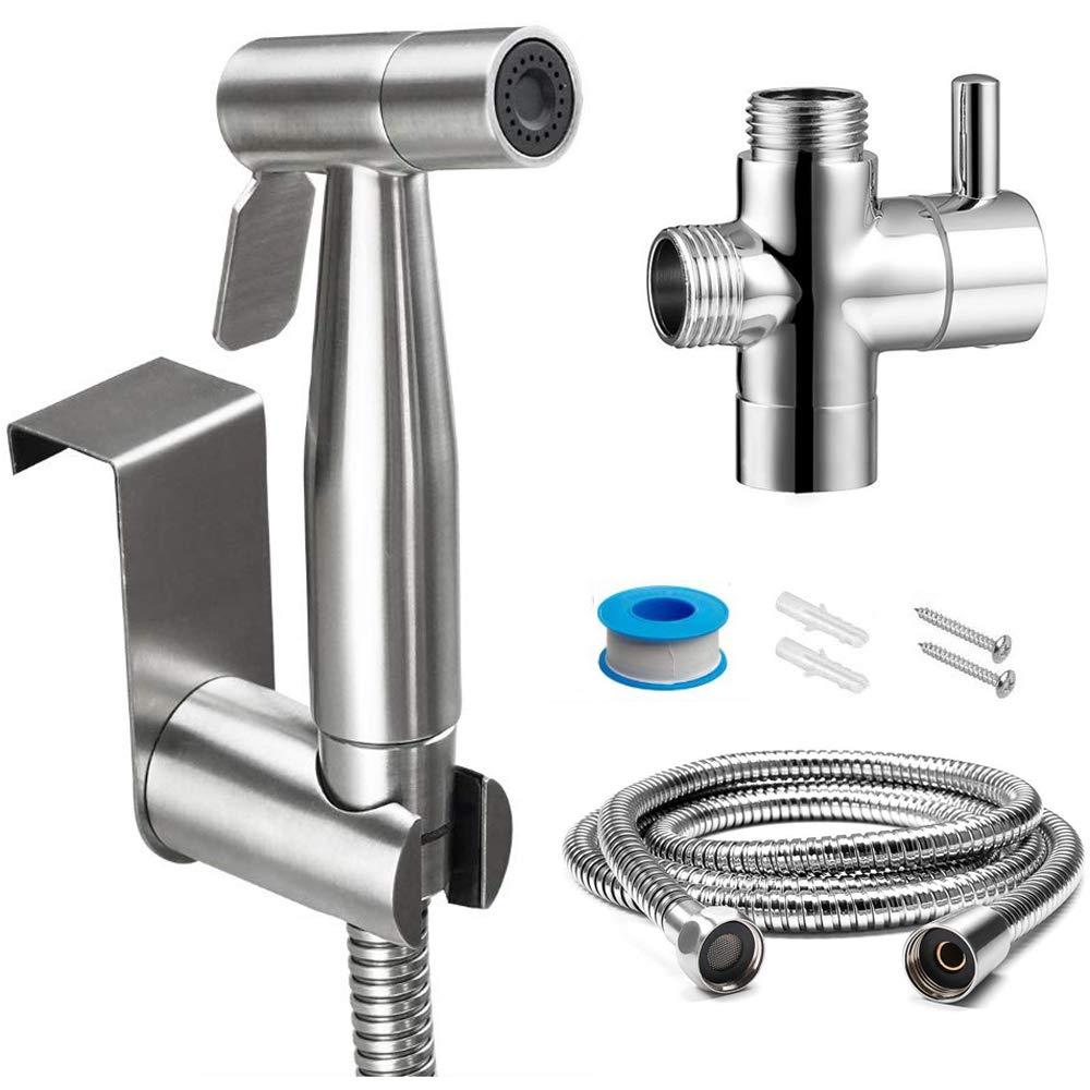 Handheld Portable Diaper Bidet Toilet Sprayer Bathroom Toilet Shower HeadNozz ZR