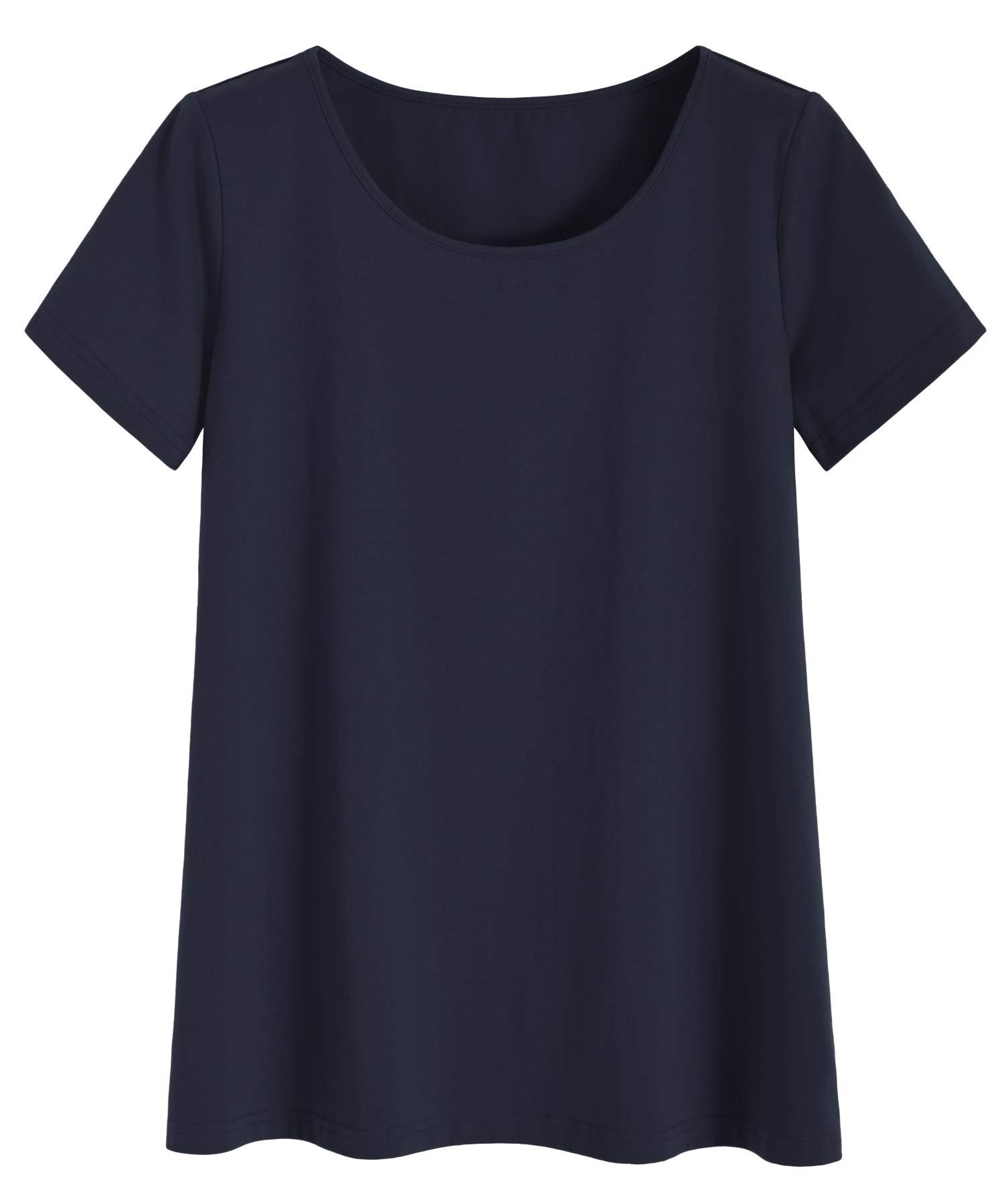 Latuza Women's Plus Size T-Shirt Summer Casual Top
