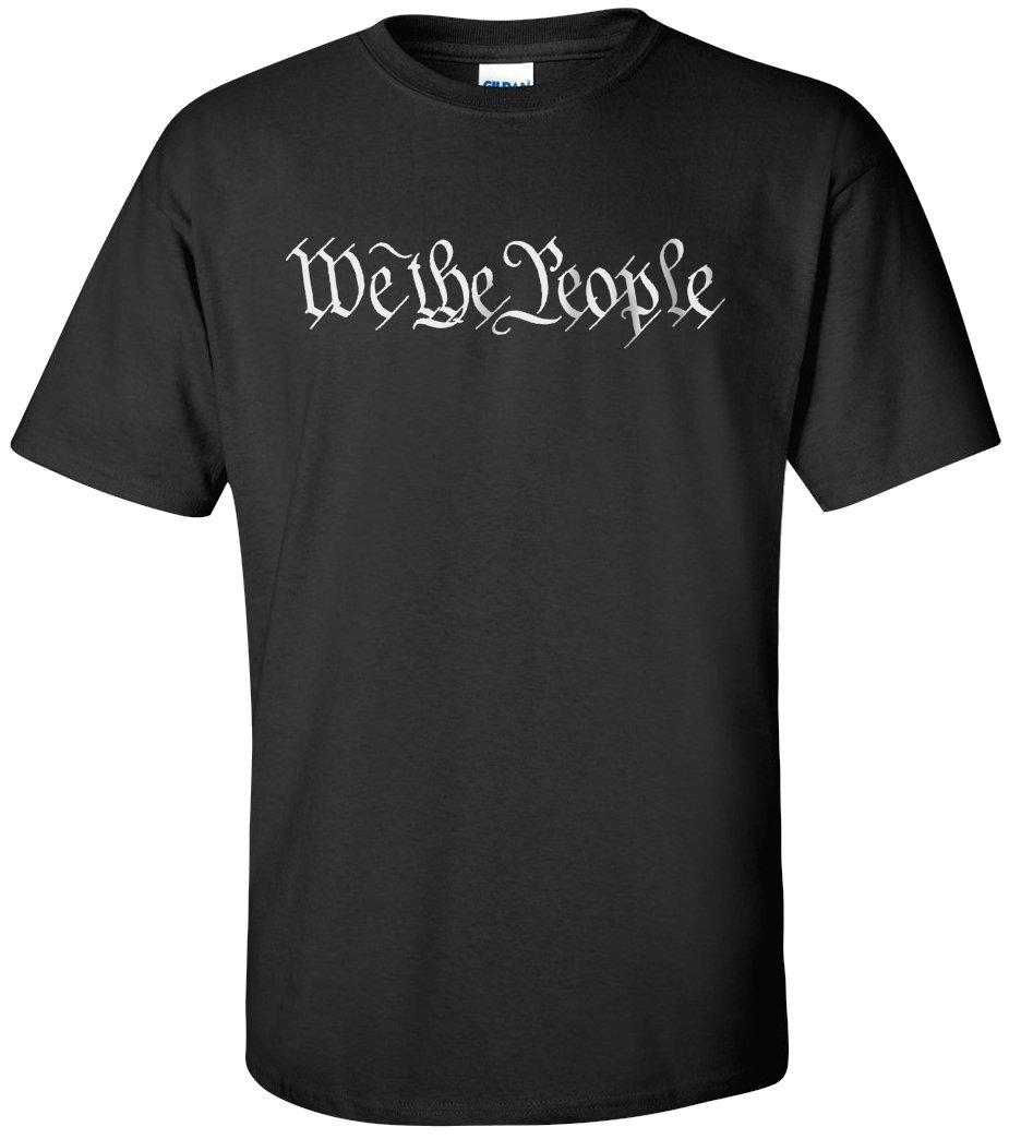 We The People T-Shirt - Black