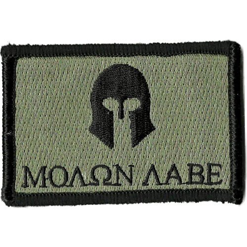 Molon Labe Tactical Patch - ACU/Foliage