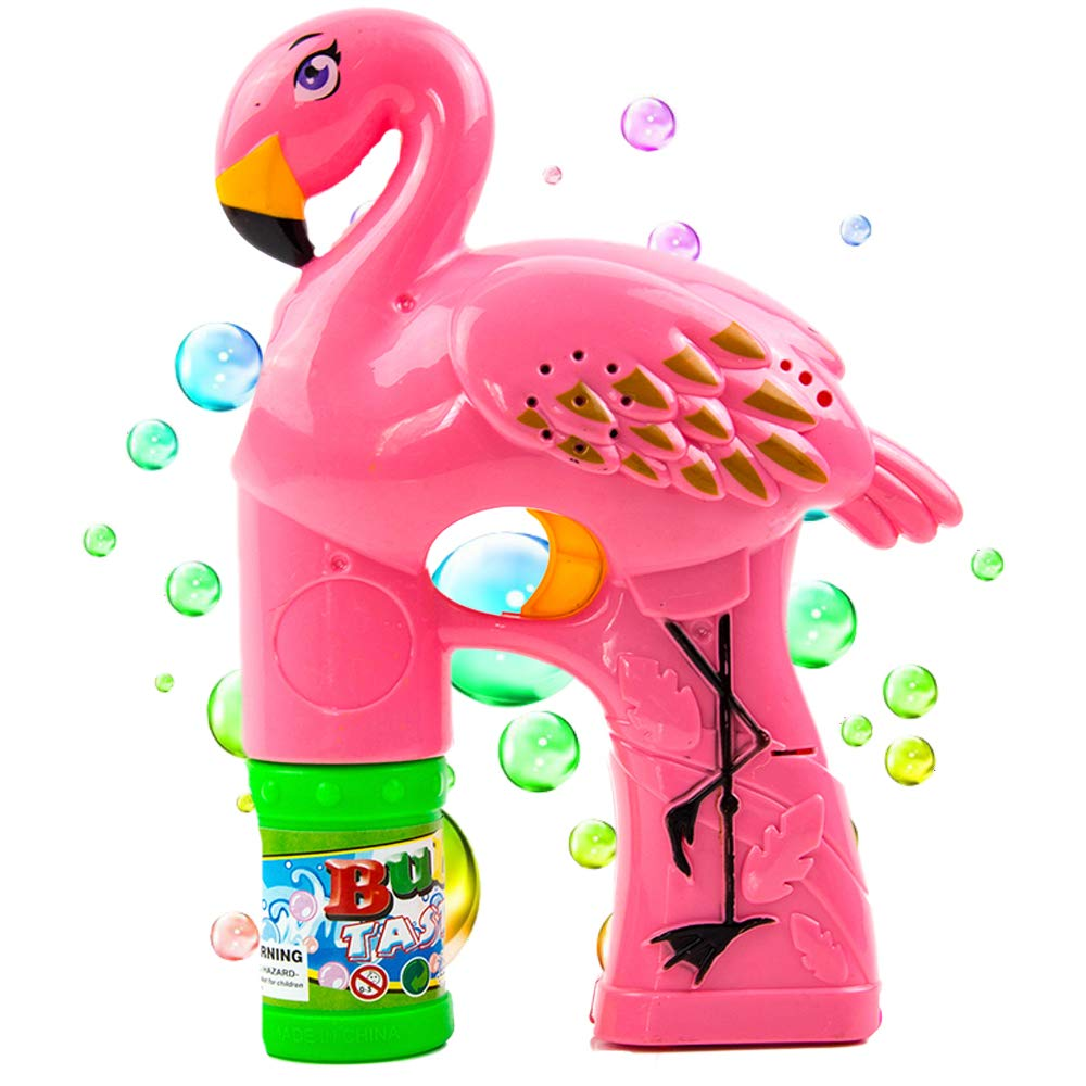 Toysery Bubble Gun for Kids, Bubble Blaster with Thousands of Colored Bubbles for Kids, Leak-Resistant Simple and Easy to Use, Bubble Machine for Kids Boys Girls Baby Bath Toys Indoor Outdoor