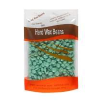 Bluezoo Body Hair Remover Hard Wax Beads for Men,Women -10 Ounces/bag (Green/Camellia)