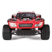 KYAMRC Remote Control Car Electric RC Cars for Kids & Adults, 2.4Ghz 20KM/H Speed Racing Trucks Stunt Off Road Vehicle Indoor Outdoor Party Games Play Toys Gift for Boys & Girls (Red)