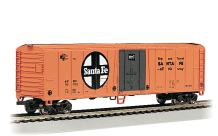 50' Steel Reefer Car - ATSF #56252 - HO Scale