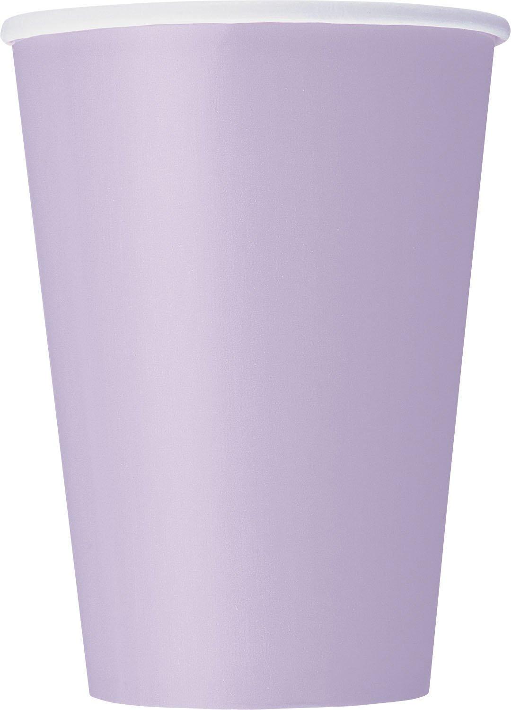 12oz Lavender Paper Cups, 10ct