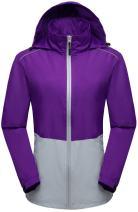Wantdo Women's Lightweight Windbreaker Quick Dry Packable Jacket
