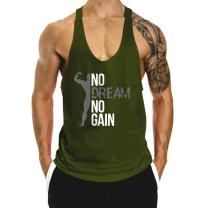 InleaderAesthetics Men's Gym Bodybuilding Stringer Muscle Cotton Tank Tops