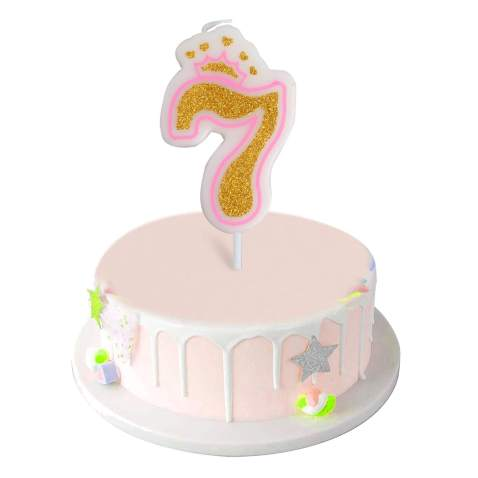 Birthday Cake Candle Number 0-9