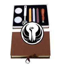 VSECUON Wax Seal Stamp Kit for SW Great Gift Set for Birthday Collection Christmas (Star Wars Kit #7)