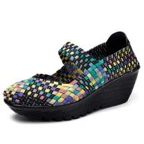 HKR Womens Wedge Platform Sandals|Comfortable