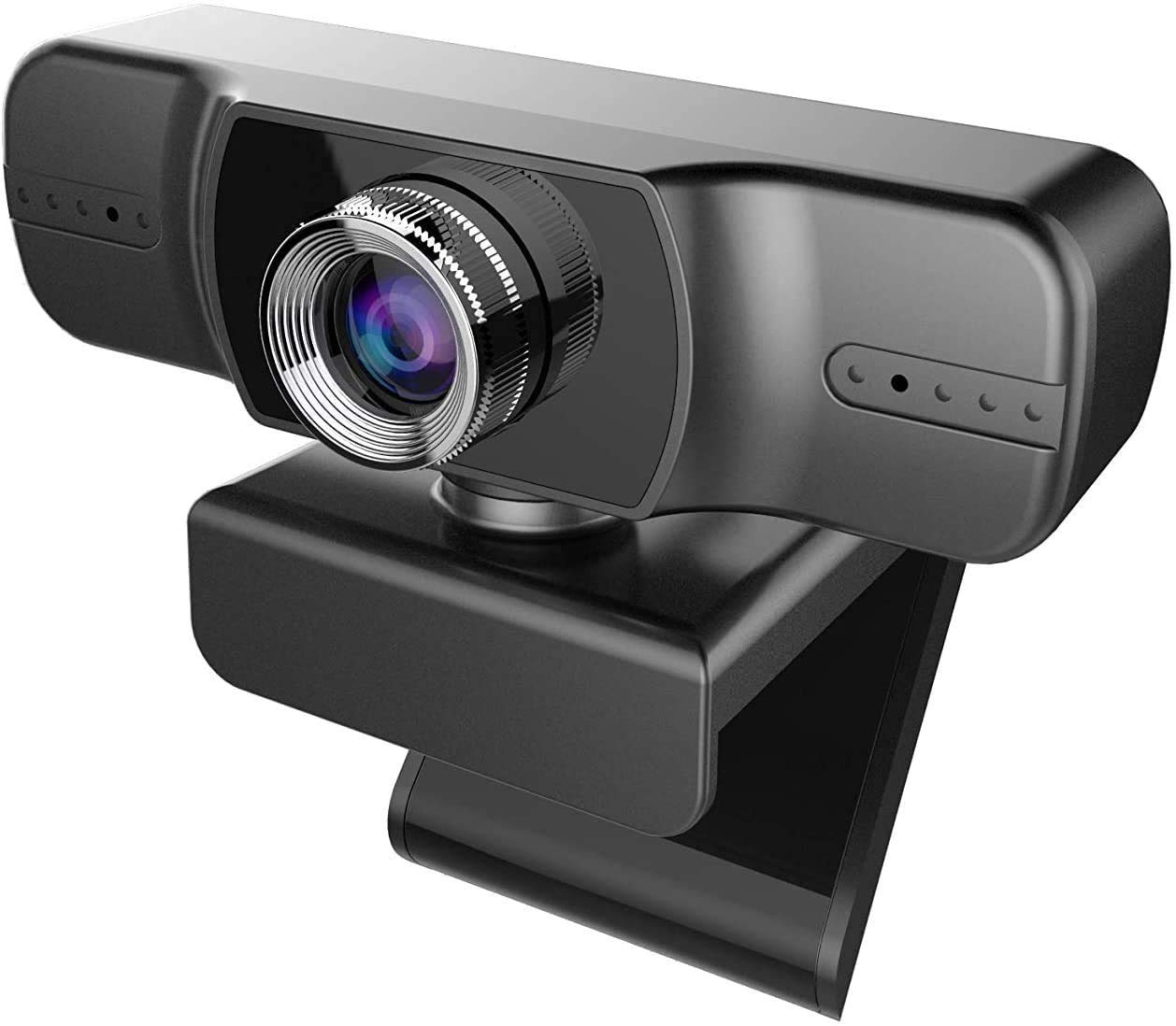 Webcam 1080P,FUVISION Computer Camera with Dual Microphone,Manual Focus Web Camera for Video Calling & Recording Video Conference/Online Teaching/Business Meeting and YouTube,Facebook,Zoom,Laptops