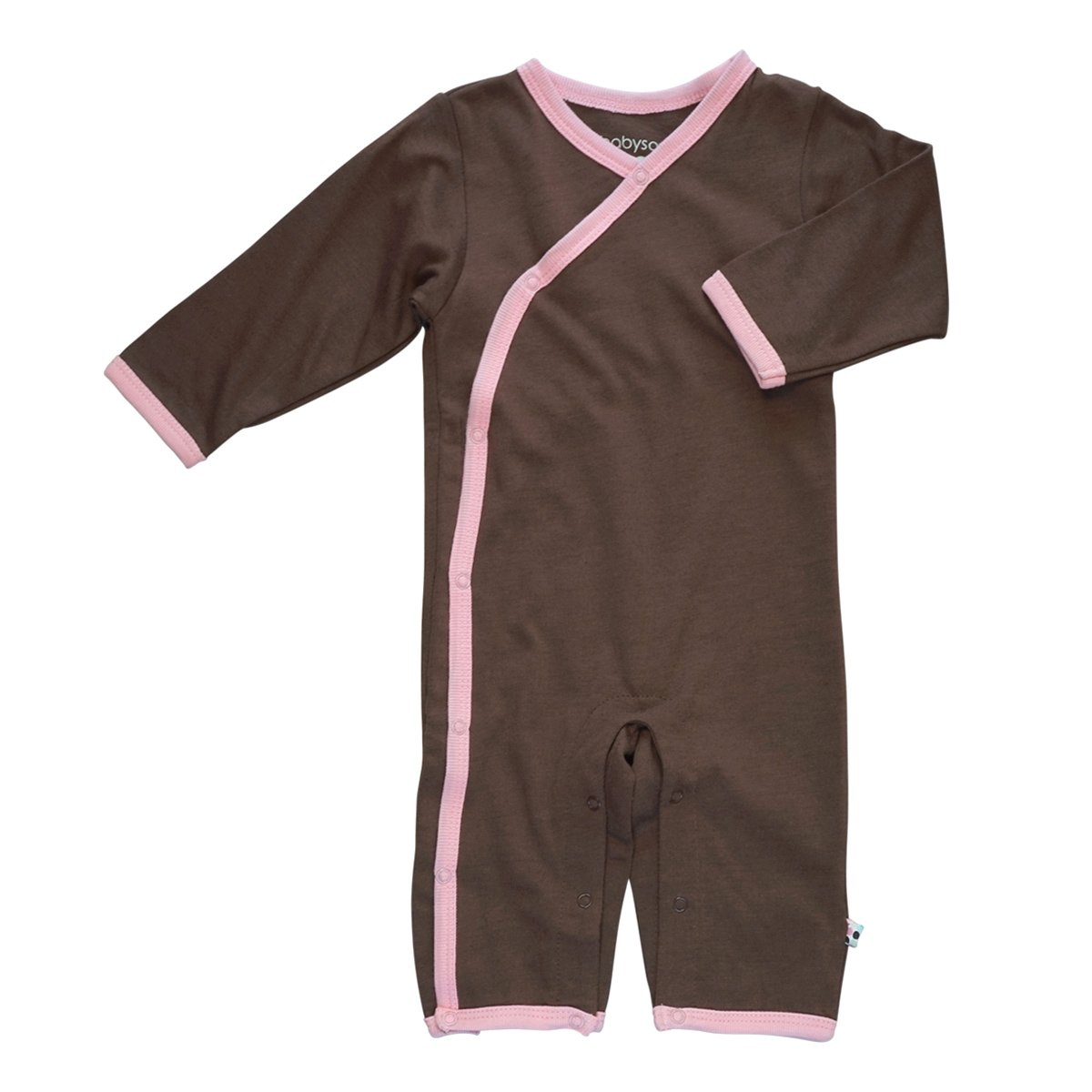 Babysoy Long Sleeve Kimono One Piece Coverall