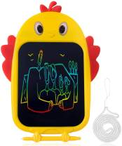 Bagpipe Gifts Toys for Age 3 4 5 6 Year Old Girls and Boys, LCD Writing Tablet 8.5 Inch Colorful Doodle Board Drawing Tablet,Yellow
