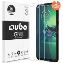 Moto G8 Plus Screen Protector, OUBA [3 Pack] Tempered Glass HD Clear [Case Friendly] Easy Installation Anti-Scratch with Lifetime Replacement Warranty for Motorola Moto G8 Plus
