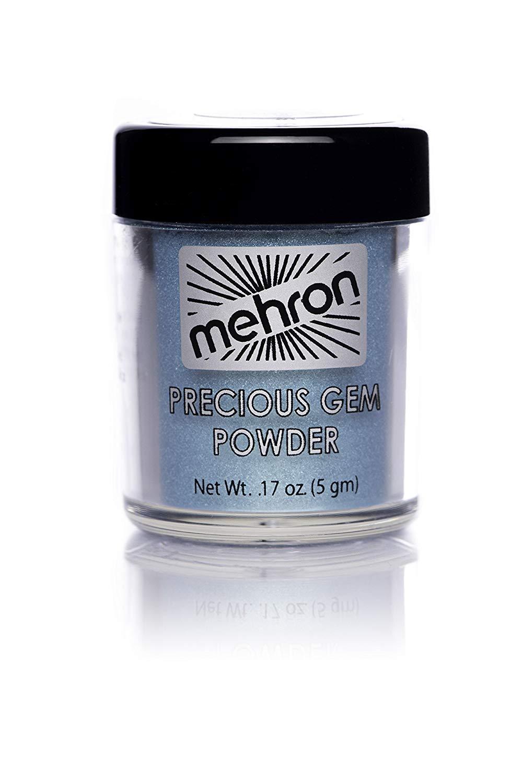 Mehron Makeup Precious Gem Powder (.17 ounce) (Turquoise)