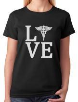 Tstars - Love Nurse Registered Nurse RN Nurse Appreciation Women T-Shirt