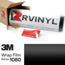 3M 1080 S12 Satin Black 5ft x 25ft W/Application Card Vinyl Vehicle Car Wrap Film Sheet Roll