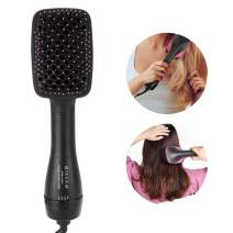 Hair Dryer Comb, 2 In 1 Dryers Comb With Flexible Tangling Free Nylon Bristles, Multi-gear Control One Step Dry And Straighten Hair Effective Hair Dryers For Salon Beauty Or Home Use(US Plug)