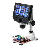 """Microscope, KKmoon 600X 4.3"""" LCD Display 3.6MP Electronic Digital Video Microscope Portable LED Magnifier for Mobile Phone Maintenance QC/Industrial/Collection Inspection"""