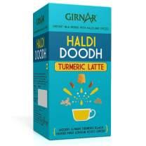 Girnar Instant Premix Turmeric Latte (Haldi Doodh), Instant Milk Premix With Turmeric And Spices