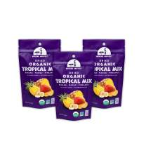 Mavuno Harvest Direct Trade Organic Dried Fruit, Tropical Mix, 3 Count