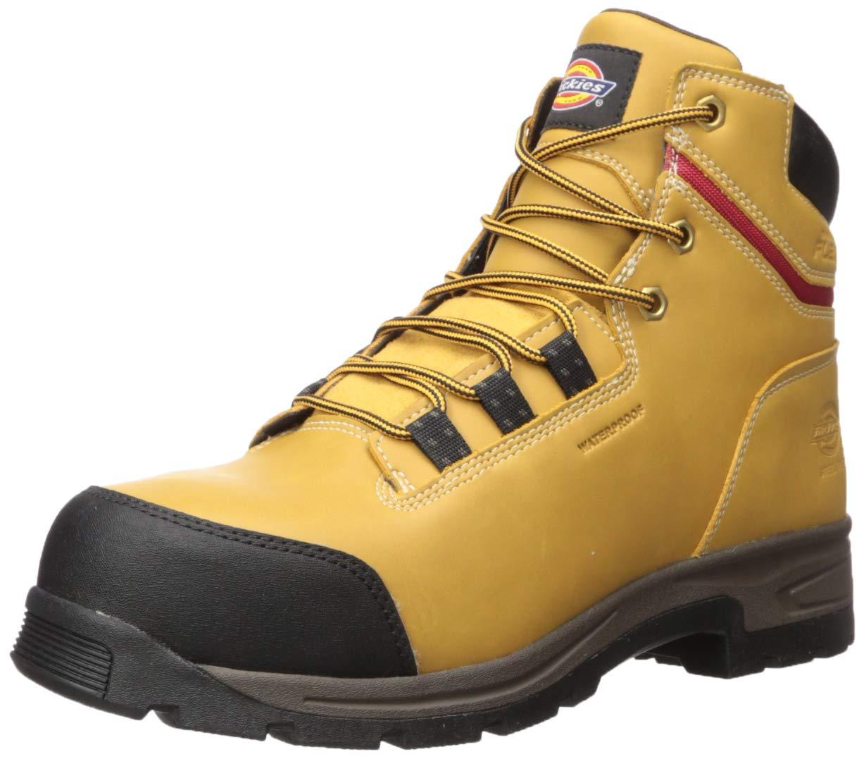 "Dickies Men's Tractus 6"" Steel Toe Eh Waterproof Industrial Boot"
