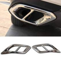 Beautost Fit for Lexus RX350 RX450H 2016 2017 2018 2019 Exhaust Muffler Pipe Tip Modling Cover Trims Stainless Steel