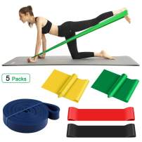 AERZETIX Resistance Bands Set Exercise Bands, Pull Up Bands Stretch Bands for Physical Therapy, Resistance Loop Bands Workout Bands Set for Women and Men